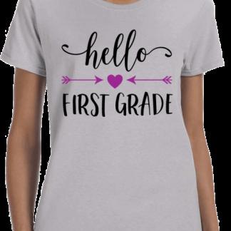 Hello First Grade T-Shirt