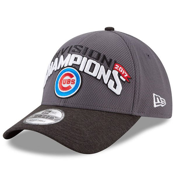 Chicago Cubs 2017 National League Central Division Champions Baseball Hat