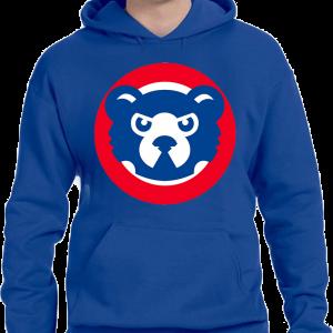 Cubs Retro Hoodie Sweatshirt