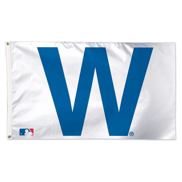 Chicago Cubs W Flag