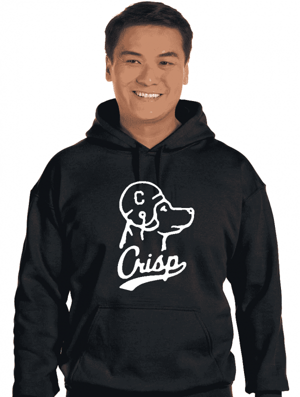 Crisp Football Dog Sweatshirt