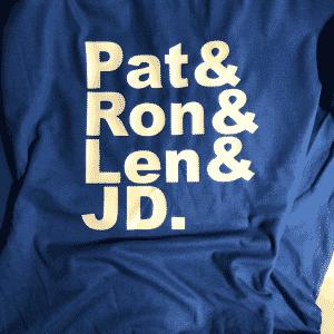 Pat & Ron & Len & JD